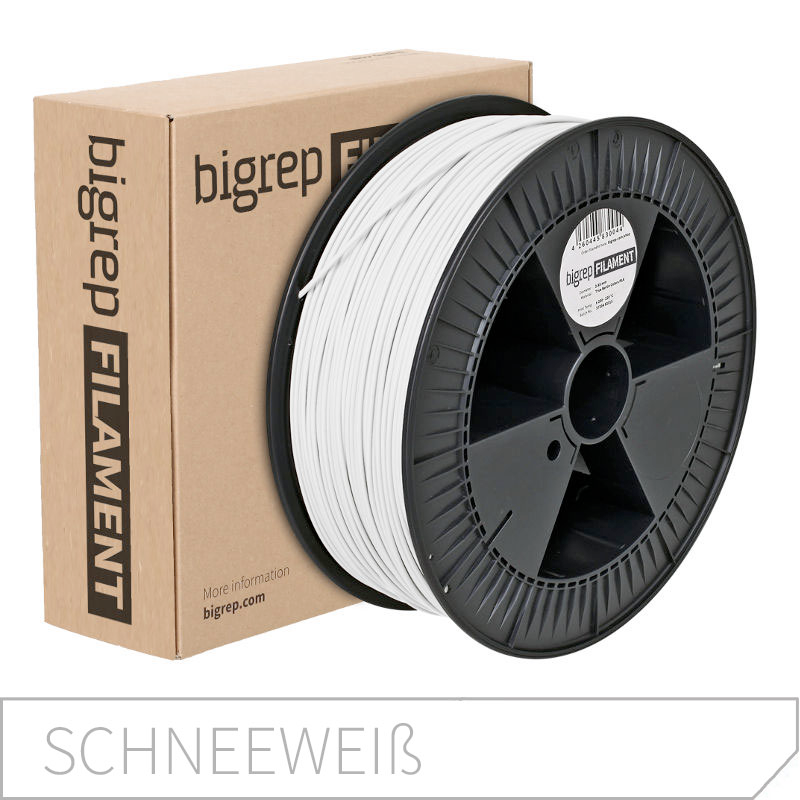 Bigrep White PLA Filament 2.85 mm