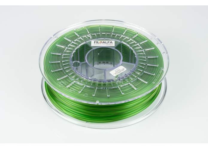 FILOALFA® PLA Transparent Green 2.85mm