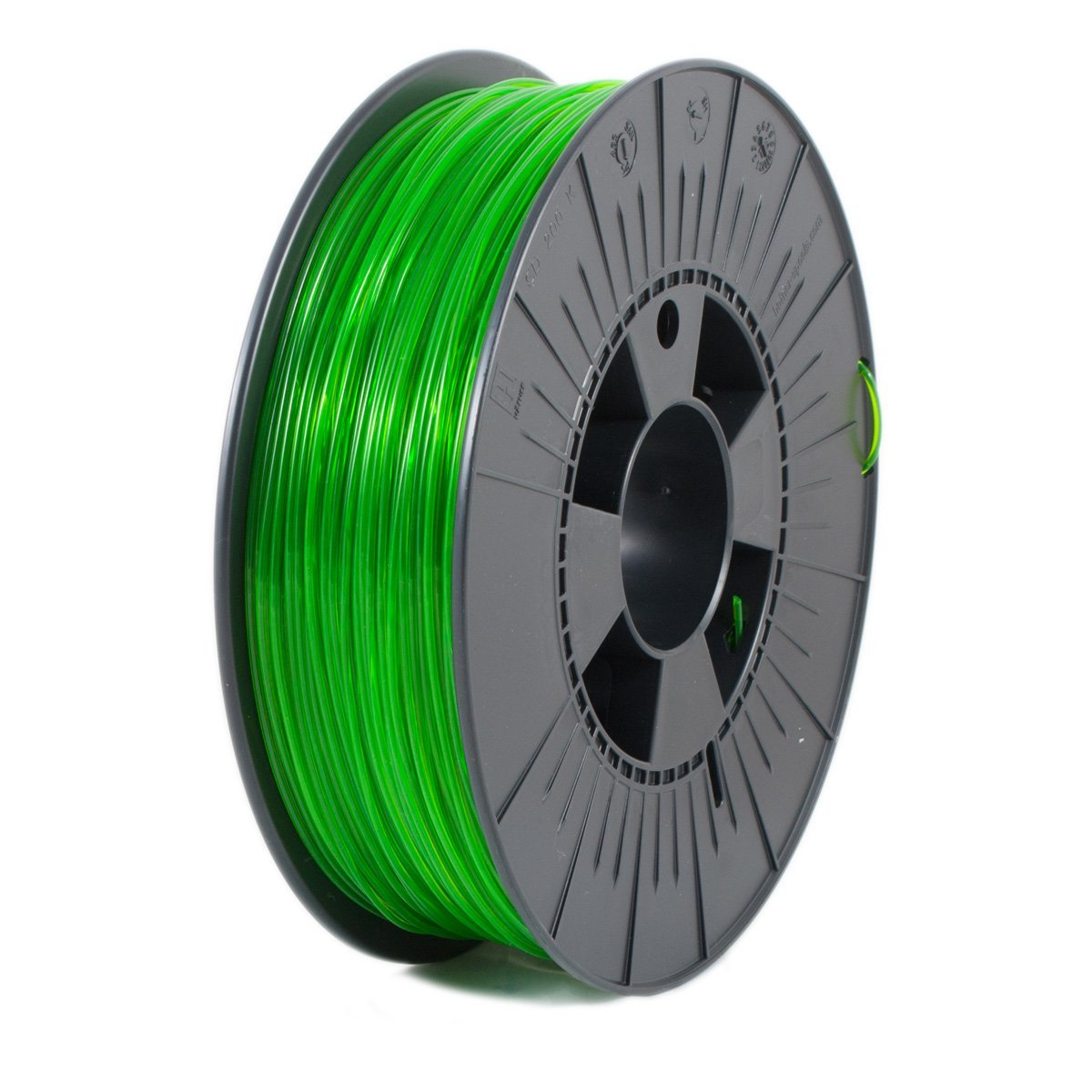 Ice Filaments  Transparent Gracious Green PET 1.75 mm
