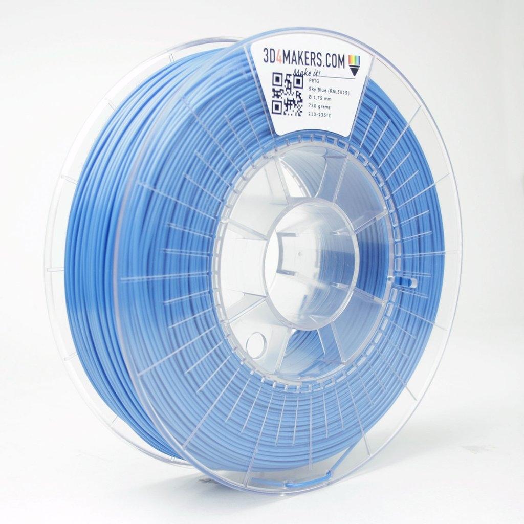 3D4Makers Sky Blue PETG Filament 1.75 mm