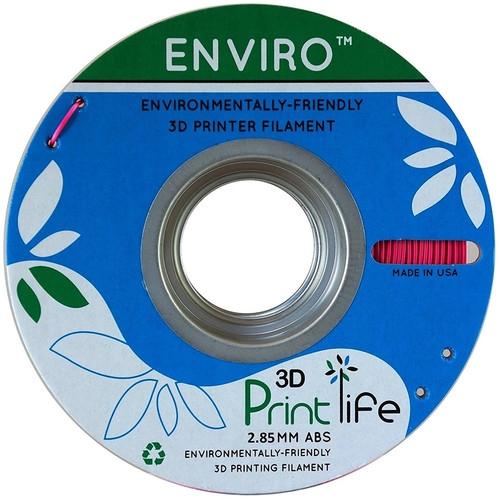 3D Printlife Enviro Pink ABS 2.85 mm