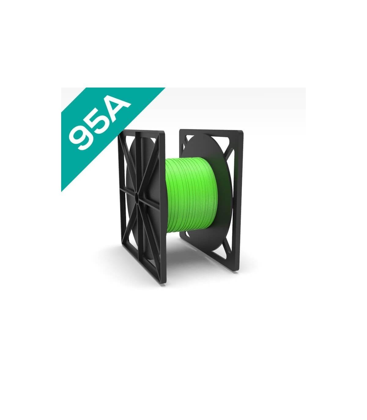 FilaFlex Green 95A PLA Filament 2.85 mm 3kg