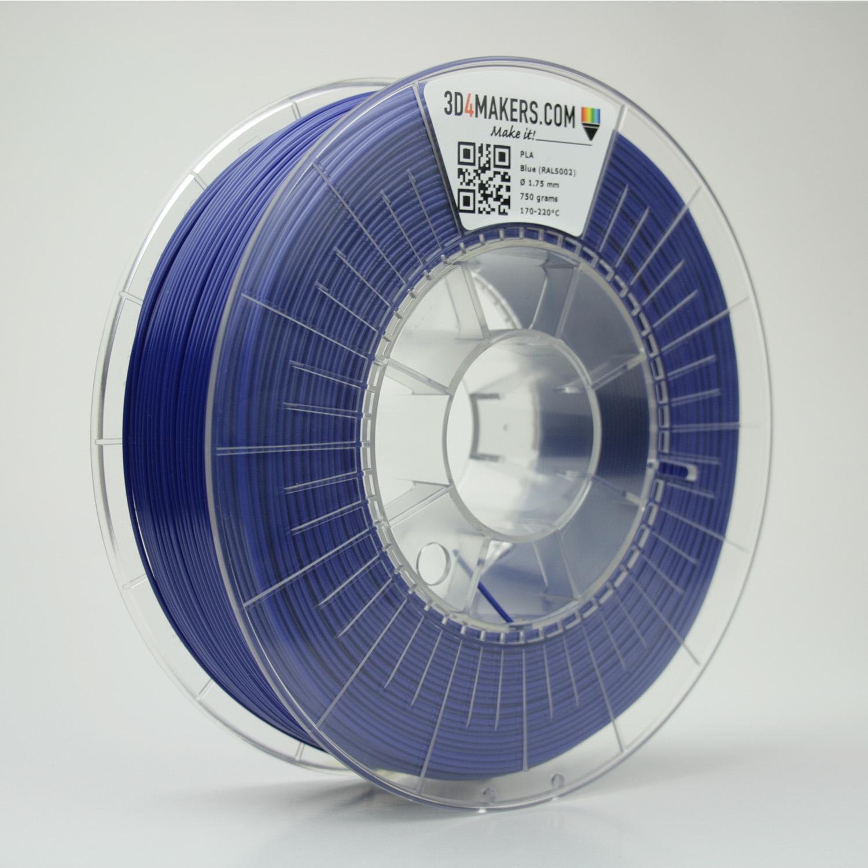 3D4Makers Blue PLA Filament 1.75 mm