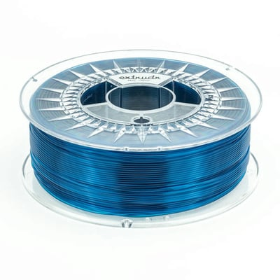 Extrudr MF Blue Transparent PETG 2.85 mm