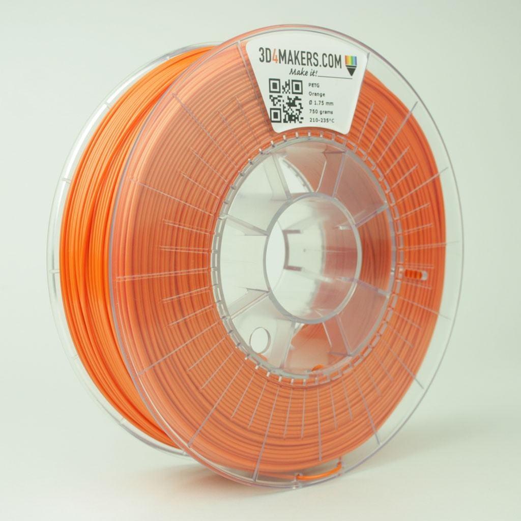 3D4Makers Orange PETG Filament 1.75 mm