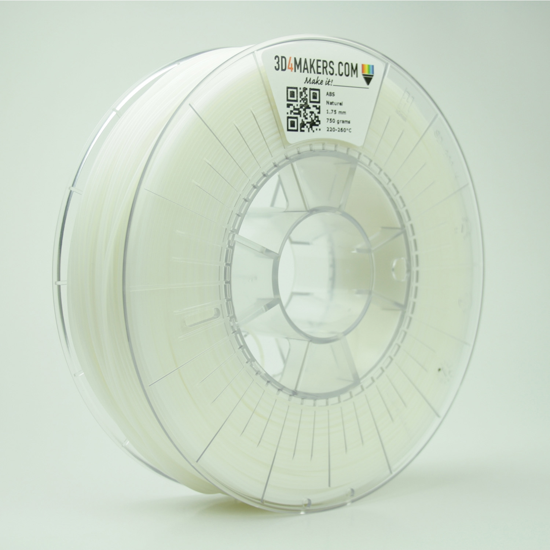 3D4Makers Natural ABS Filament 1.75 mm