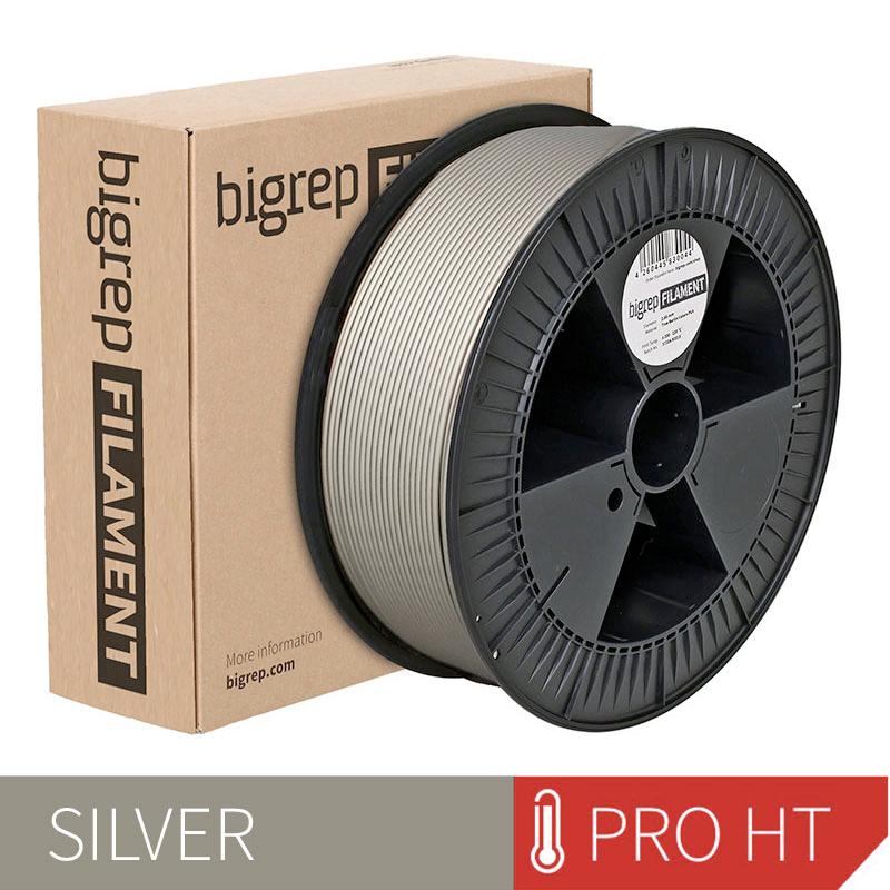 Bigrep Silver PRO HT Filament 2.85 mm