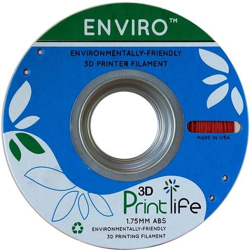 3D Printlife Enviro Red ABS 1.75 mm