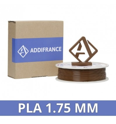 AddiFrance PLA Filament Brown 1.75mm 750g